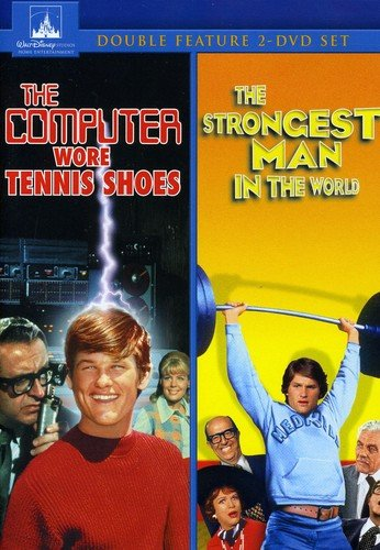 The Computer Wore Tennis Shoes/The Strongest Man In The World 2-Movie Collection from Buena Vista Home Video