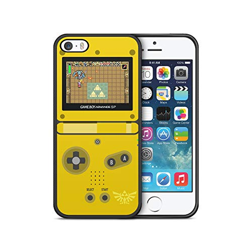 Zelda Gameboy Advance SP ModifiedCases Bumper Case Compatible with iPhone 5/5S (Iphone 5 Cases Gameboy)