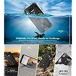 4G-Rugged-Cellulare-2020-OUKITEL-WP5-Batteria-da-8000-mAh-Smartphone-Antiurto-IP68-Luce-Flash-a-4-LED-MTK6761-4GB-32GB-13MP-2MP-2MP-Android-90-Riconoscimento-Facciale-GPS-Arancia