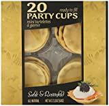 Sable & Rosenfeld Mini Pastry Party Cups, 20 Count (Pack of 16)