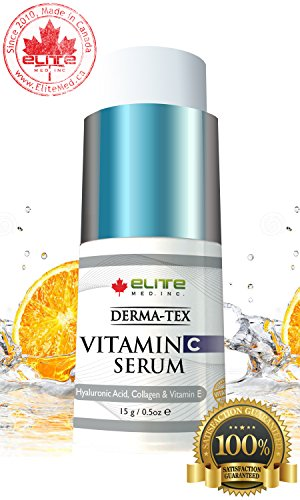 Vitamin C Serum Hyaluronic acid Collagen & Vit E skin care - Derma-Tex C Plus 15g by Dermatex