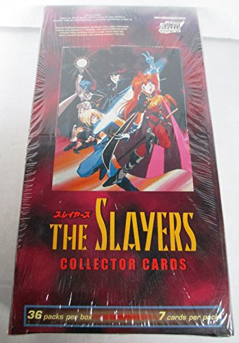 Comic Images The Slayers Anime Collector Cards Box Set - 36 Packs by The Slayers