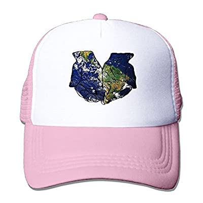 Hold Earth Baseball Cap Adjustable Snapback Custom Mesh Trucker Hat by Swesa