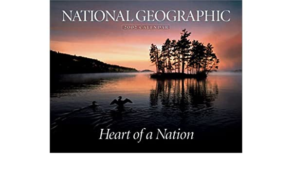 heart of a nation 2002 calendar
