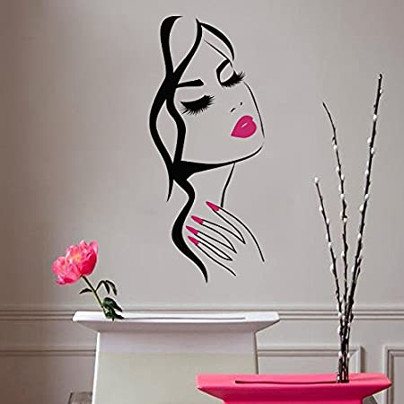 Wall Decal Nail Salon Sign Manicure Manicurist Hands Beauty Salon