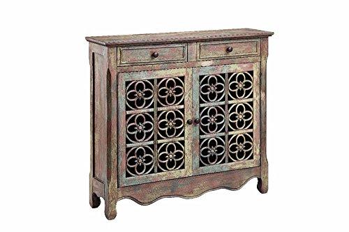 Stein World Furniture 2 Door 2 Drawer Cabinet, Ancient Cobblestone