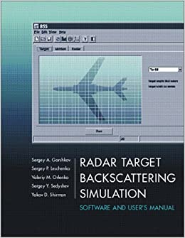 Computer Simulation of Aerial Target Radar Scattering, Recognition, Detection, & Tracking
