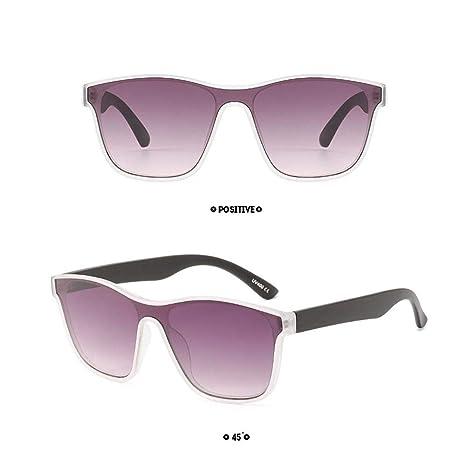 AOLVO Cateye Gafas de sol con efecto espejo, retro, vintage, polarizadas, retro, clásicas, modernas, elegantes, para hombre, marco ligero, lentes ...