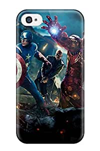 Aarooyner Case Cover Protector Specially Made For Iphone 4/4s The Avengers 41