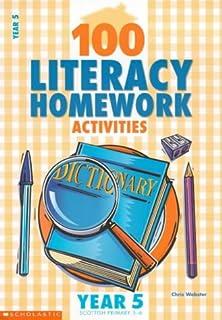 Homework activities year 3