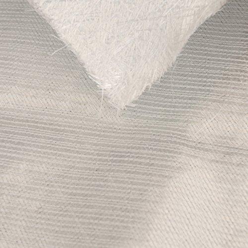 (Fiberglass Knitted Fabric Type 1708 25.3oz. X 50″, -45 17 oz w/ 3/4oz. Mat - 10 Yard roll)