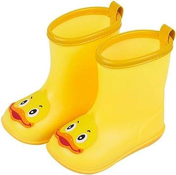 Infant Boy Girls Waterproof Rubber Non Slip Boots Baby Kids Children Rain Shoes