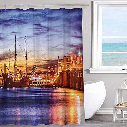 MKOK Waterproof Shower Curtain 40