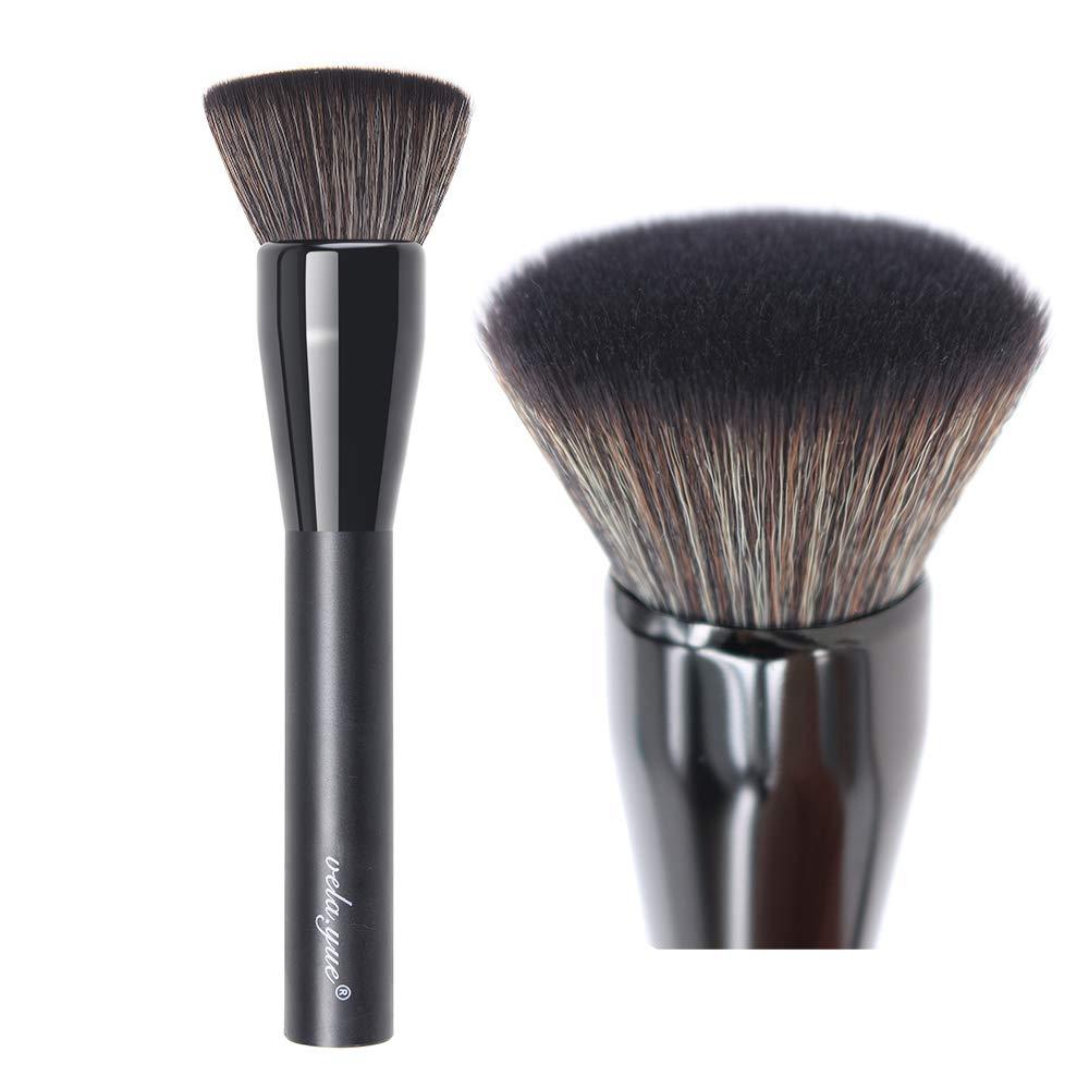 vela.yue Mineral Foundation Brush Flat top Kabuki Face Buffing Brush
