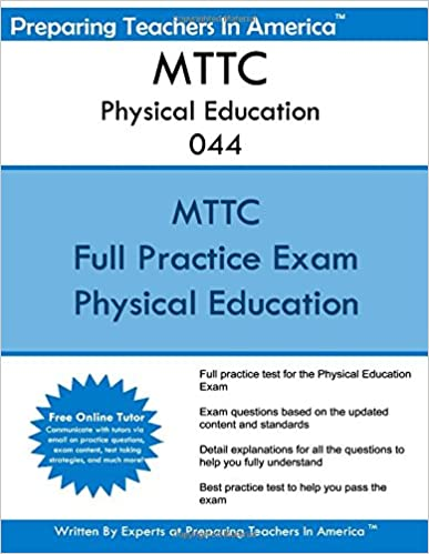 MTTC Physical Education 044: Michigan Test For Teacher Certification