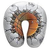 Owen Pullman Travel Pillow Basketball Break The Wall Memory Foam Neck Pillow Comfortable U Shaped Neck Support Plane Pillow