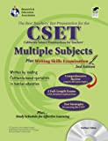 img - for Calif. CSET: Multiple Subjects/Writing w/CD (REA): 2nd Edition (CSET Teacher Certification Test Prep) book / textbook / text book