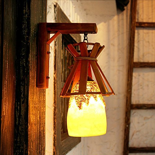 garanzia di qualità Creative corridoio balcone balcone balcone corridoio lampade Cafe Bar resina lampada a parete, 200  400 (mm)  sconti e altro