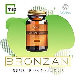 Sunless Tanning Pills Bronzan Fast Tanning Natural Tan Dark Tan Indoor Tanning Golden Glow Bronzer Bronze Skin Tablets