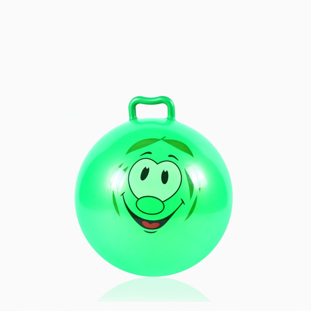 Diameter 10in//25cm Balls Inflatable Hopper with Handle Toy for Children and Baby,Jumping Bounce Stress Children Health Care Toy PVC Balance for Kids Boys /& Girls Christmas Party