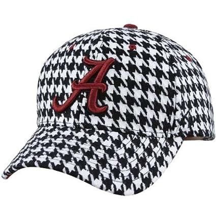 452bf290be4 ... get zephyr alabama crimson tide houndstooth adjustable hat b96b4 cc7b5