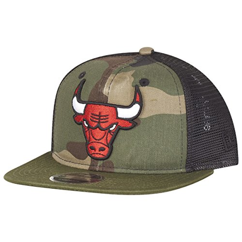 Snap Washd Cap l Bulls en Chibul Camo New Chicago Era BUwZI5