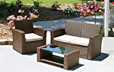 Innovex PRI06OD Prima Set Outdoor Patio Furniture, large, Auburn