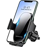 【2021 Upgraded】 Miracase Car Phone Mount, Air Vent Cell Phone Holder for Car, Universal Car Phone Holder Cradle Compatible wi