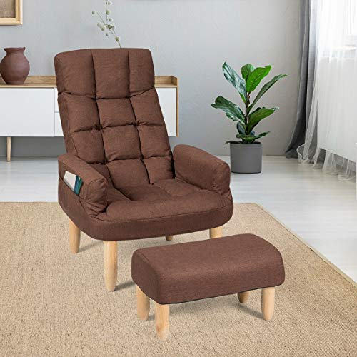 Coffee Living Room Sofa Armchair Backrest & Headrest Wooden Home Garden House Furniture Sofas Recliners Sleeper Chairs, Bench, Seat, Settee, Divan, Easychair, Davenport, Household, Wood, Woody, Lounge from Lek Store