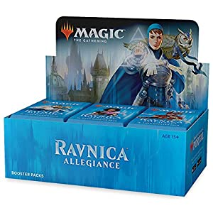 Magic: The Gathering 630509673162 Ravnica Allegiance Booster Box | 36 Booster Pack (540 Cards)