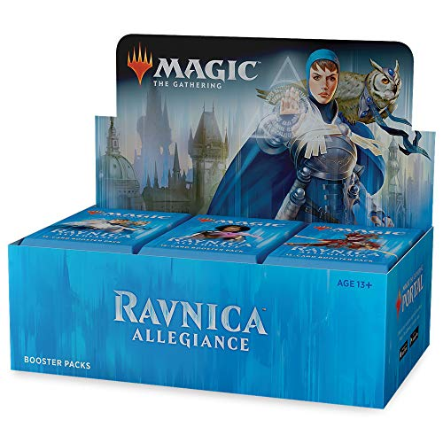 - Magic: The Gathering Ravnica Allegiance Booster Box | 36 Booster Packs (540 Cards)