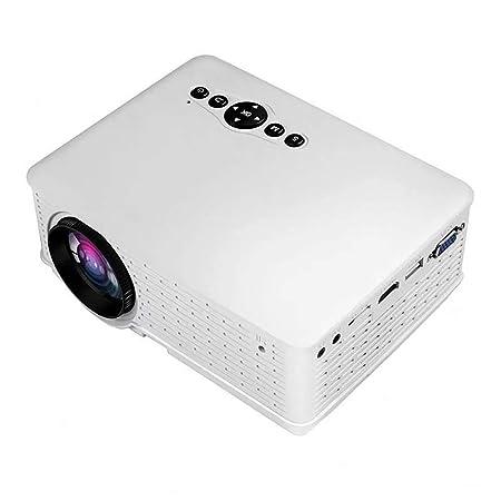 QLPP Proyector, Compatible con Mini Video proyector 1080P ...