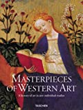 img - for Masterpieces of Western Art: A History of Art in 900 Individual Studies book / textbook / text book