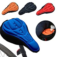 Parts & Components - Outdoor Cycling 3d Bicycle Silicone Gel Pad Seat Saddle Cover Soft Chion - Bicycle Seat Bike Chion Cycle Saddle Cover Stationary Cycling Padded - 1PCs