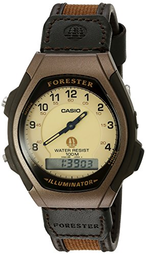 Casio Men's FT600WB-5BV Ana-Digi Forester Illuminator Sport Watch - Casio Watch Canvas