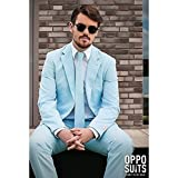 OppoSuits Cool Blue Suit Adult 48 by OPPOSUITS
