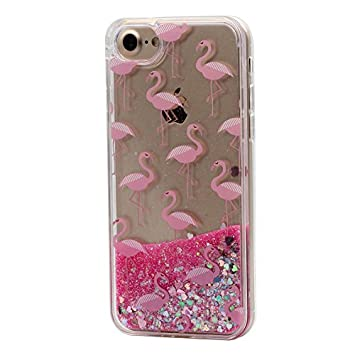coque iphone 8 plus flamant rose
