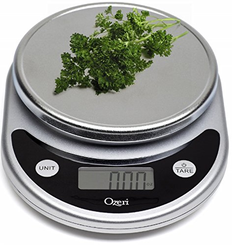 Ozeri Pronto Digital Multifunction Kitchen and Food Scale, Elegant