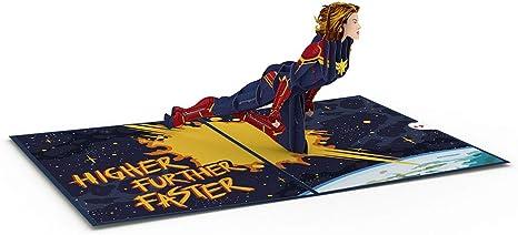 Amazon.com: Lovepop Marvel - Tarjetas de felicitación 3D ...