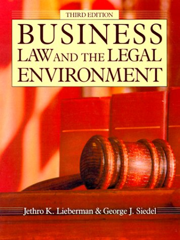Business Law and the Legal Environment (The Dryden Business Law Series)