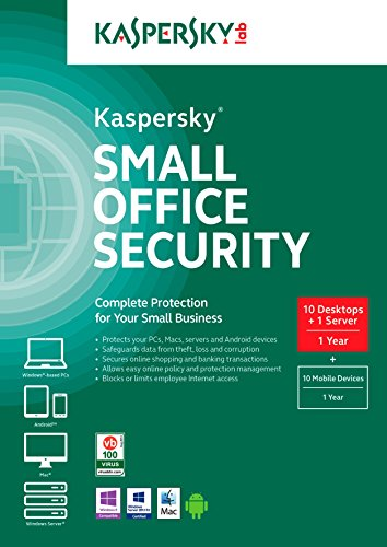Kaspersky Small Office Security (10 Desktops) by Kaspersky