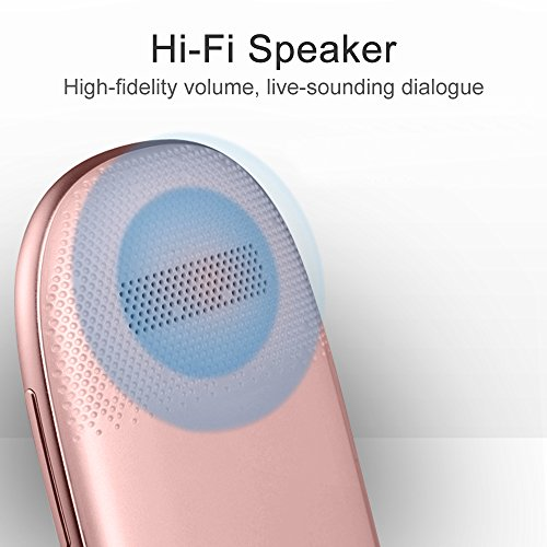 HIOTECH Language Translation Device [Instant Simultaneous Intelligent Portable] Translator Language Assistant for Chinese and English (Rose Gold) by HIOTECH (Image #3)