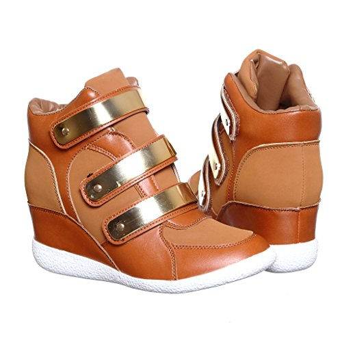 Shoewhatever Womens Pl Hi Sneakers Stringate Con Zeppa Alta Chnnub14