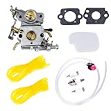 PODOY 545070601 P3314 Carburetor Air & Fuel Filter Kit with Gaskets Fuel Line Spark plug for Poulan P3416 P3816 P4018 PP3416 PP3516 PP3816 PP4018 PP4218 PPB3416 PPB4018 PPB4218 Power Gas Chainsaw