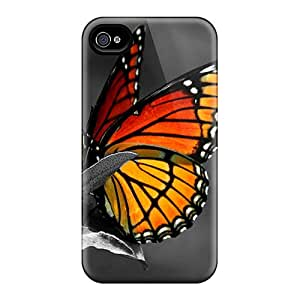 Iphone 6plus QsS5098nWNV Provide Private Custom HD Butterfly Pattern Best Hard Phone Cover -KevinCormack