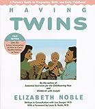 Having Twins, Elizabeth Noble, 0395493382