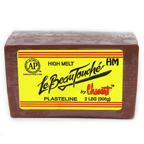 Chavant Le Beau Touche High Melt (Brown) -- 1/4 Case by Chavant (Image #1)