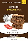 Keto and Co's Low Carb, Gluten Free Brownie Mix, Sugar Free, Sweetened with Sucralose