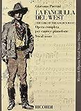 La Fanciulla del West: Vocal Score