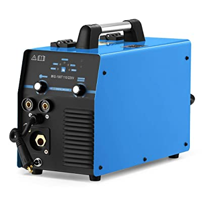 MIG MMA Welder 190A Welding 110/220V Dual Voltage IGBT DC Inverter MIG/Stick Multifunction Welding Machine